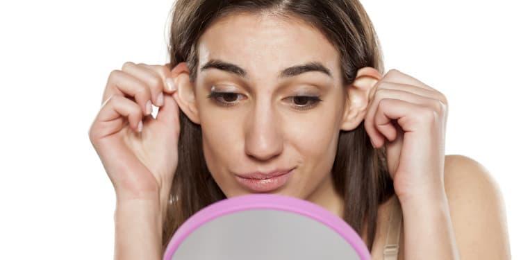 عملية تجميل الأذن البارزة