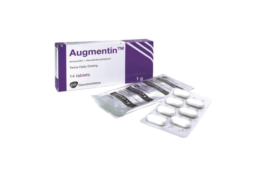 أوجمنتين Augmentin مضاد حيوي واسع المدى الجرعة للأطفال والكبار ودواعي الأستخدام