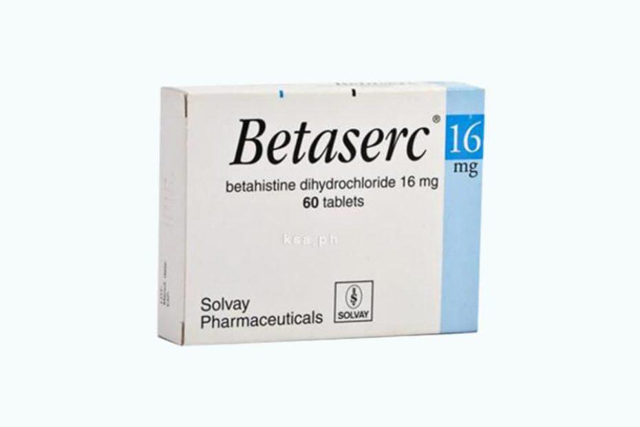 بيتاسيرك Betaserc لعلاج الدوخة واضطرابات التوازن دواعي الاستعمال والسعر والأضرار