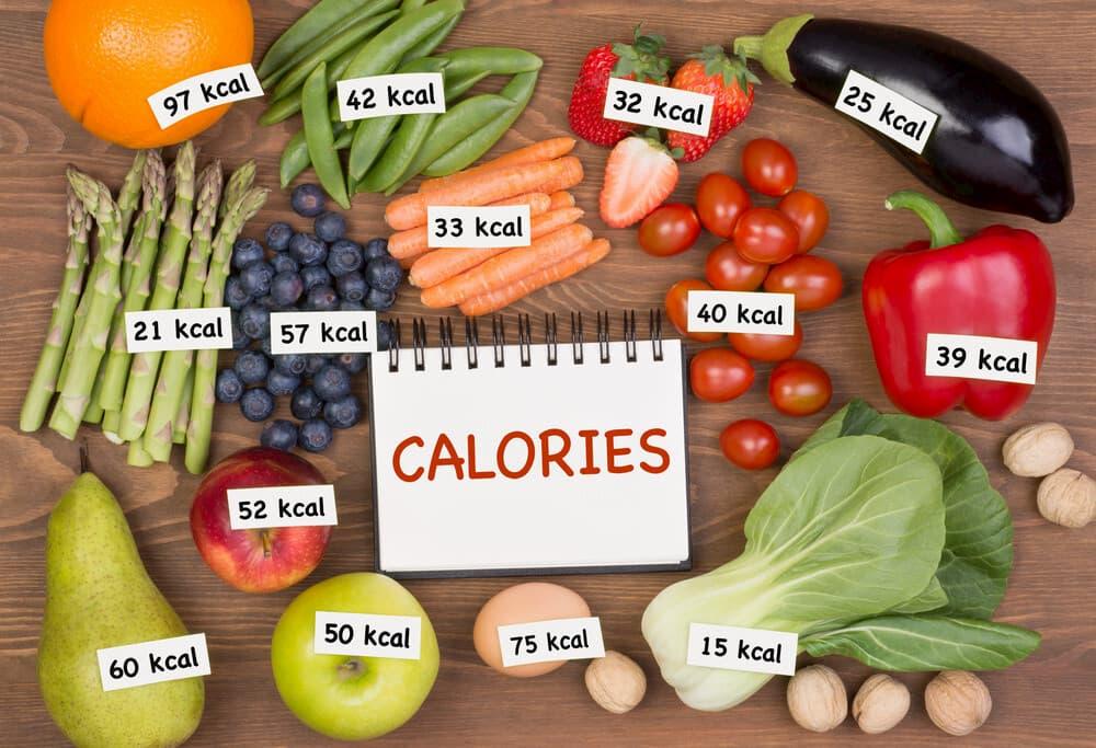 السعرات الحرارية لجميع أنواع الطعام