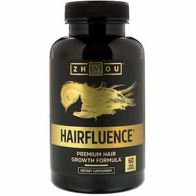 Zhou Nutrition, Hairfluence, Premium Hair Growth Formula