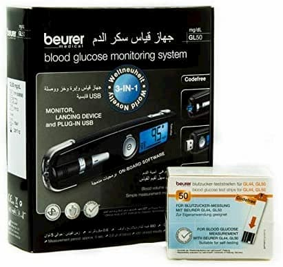 جهاز قياس السكر بيورير