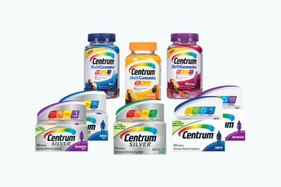 سنتروم Centrum أنواع الفيتامينات والفوائد والعيوب والسعر دوت طب