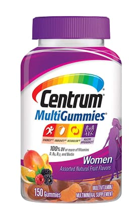 علكة سنتروم متعددة الفيتامينات