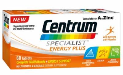 فيتامينات سنتروم لتعزيز الطاقة