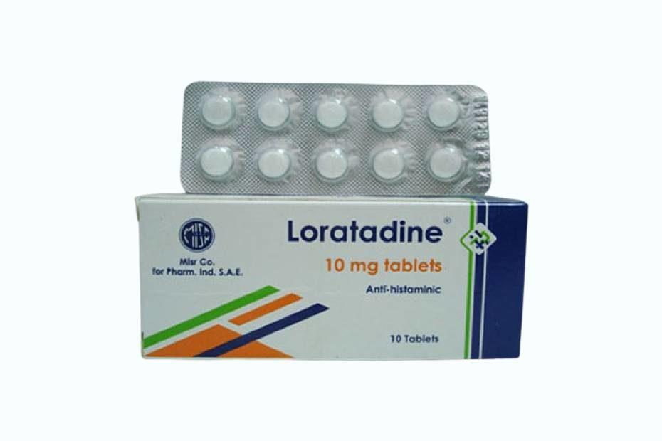 لوراتادين Loratadine مضاد للحساسية أقراص وشراب دوت طب